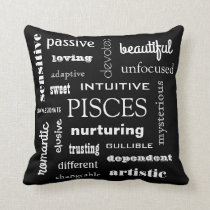 Pisces Astrological Throw Pillow