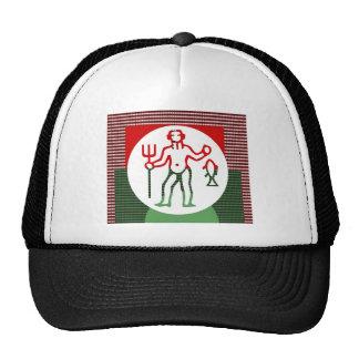 PISCES Astrology Zodiac Symbol Mesh Hats