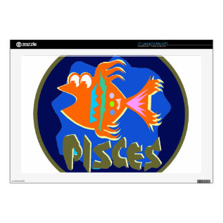 """Pisces Badge 17"""" Laptop Decal"""