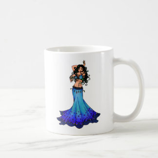 Pisces Belly Dancer Art Coffee Mug