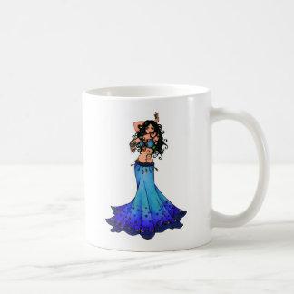 Pisces Belly Dancer Art Coffee Mug
