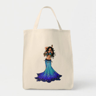 Pisces Belly Dancer Art Tote Bag