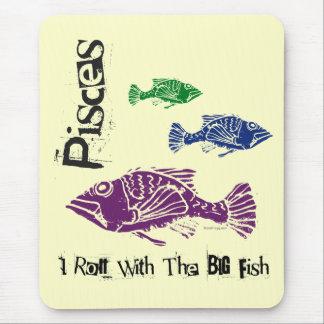 Pisces Big Fish Mousepad