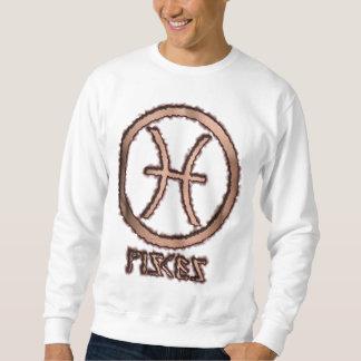 Pisces Burned Sweatshirt