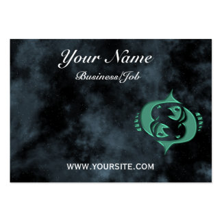 Pisces Business Card Template