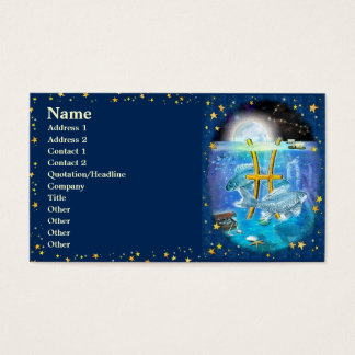 Pisces Business Card