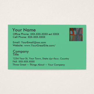 Pisces - business cards