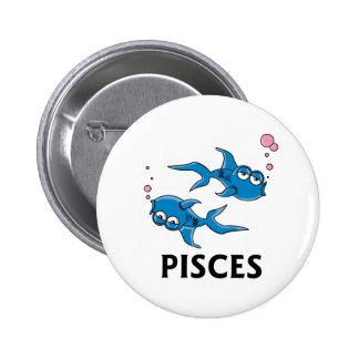 Pisces Cartoon Pins