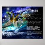 Pisces Characteristics Poster