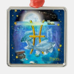 Pisces Christmas Tree Ornaments