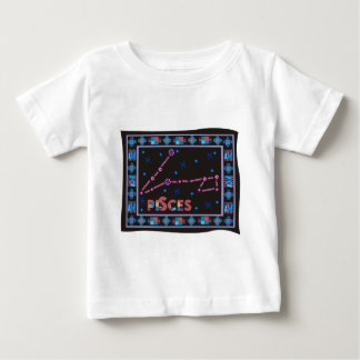 Pisces Constellation Baby T-Shirt