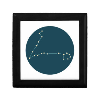 Pisces Constellation Jewelry Box
