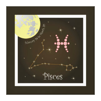 Pisces February 19 tons of March 20 canvas