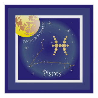 Pisces February 19 tons of March 20 poster