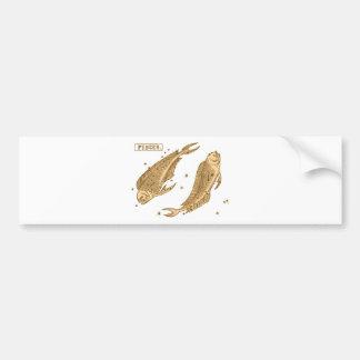 Pisces - Fisch Bumper Sticker