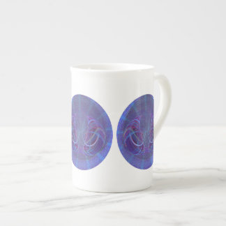 Pisces Fish Abstract Art Tea Cup