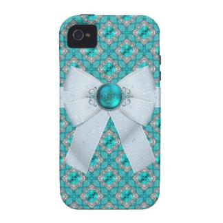 Pisces Fish Aquamarine Birthstone iPhone 4/4S Case