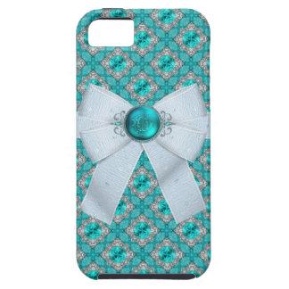 Pisces Fish Aquamarine Faux Birthstone iPhone 5 Covers