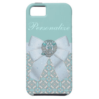 Pisces Fish Faux Jewels & Bow iPhone SE/5/5s Case