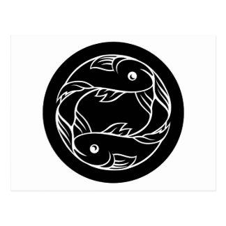 Pisces Fish Zodiac Astrology Sign Postcard