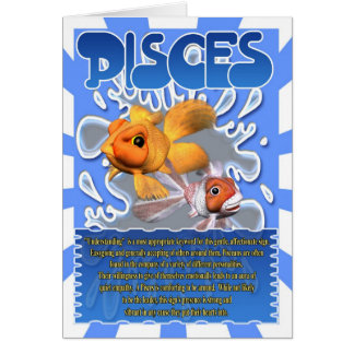 Pisces Fun Facts horoscope Cards