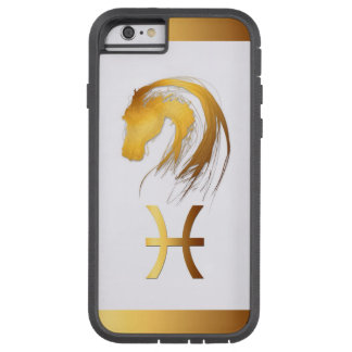 Pisces Horse Chinese and Western Astrology Tough Xtreme iPhone 6 Case