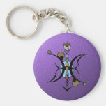 PISCES Key Ring Keychains