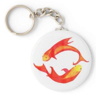 'Pisces' Keychain