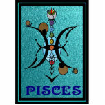 Pisces LOGO Sculpture Photo Sculpture