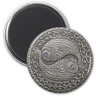 Pisces Medallion Magnet