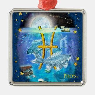 Pisces Metal Ornament