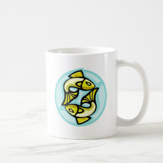 Pisces Classic White Coffee Mug