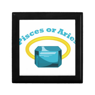 Pisces Or Aries Jewelry Box