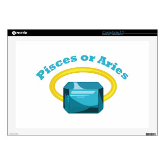 """Pisces Or Aries Skin For 17"""" Laptop"""
