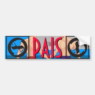 Pisces: PAIS - Men's Best Friendships Bumper Sticker