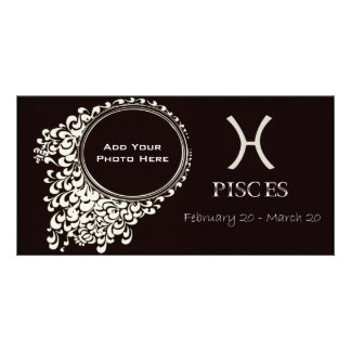 Pisces Photo Template Picture Card