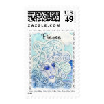 Pisces Postage Stamp