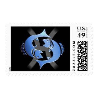 Pisces Postage Stamp
