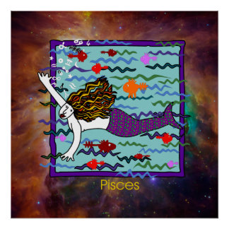 Pisces Poster Print