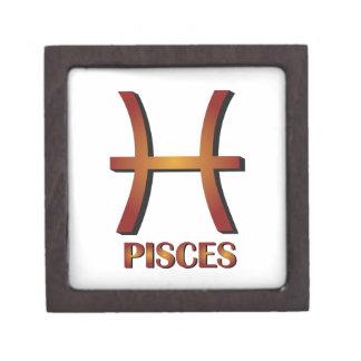 Pisces Premium Keepsake Boxes