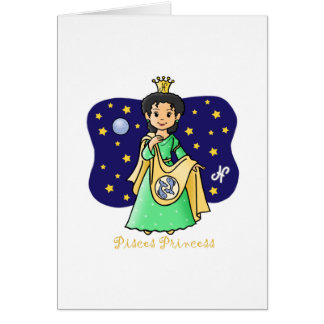 Pisces Princess Card