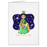 Pisces Princess Greeting Card