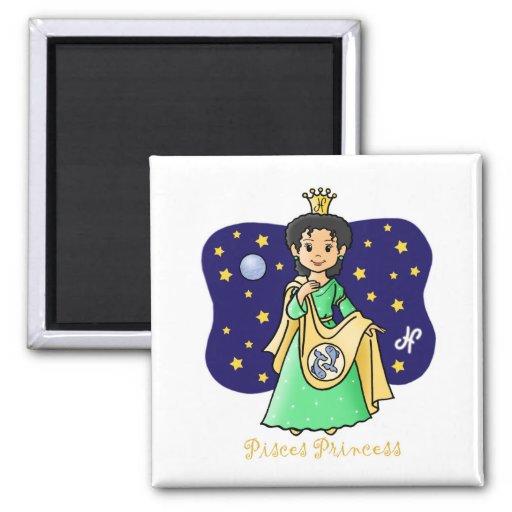 Pisces Princess Magnet