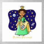 Pisces Princess Poster