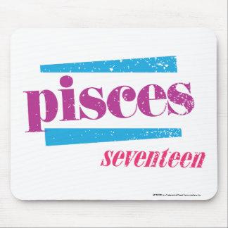 Pisces Purple Mouse Pad