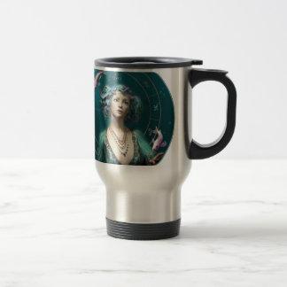 Pisces Round Travel Mug