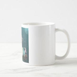 Pisces square zodiac sign coffee mug