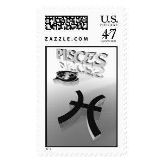 pisces stamp
