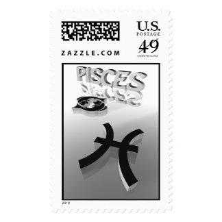 pisces stamp
