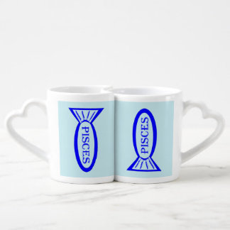 Pisces Star Sign Fish Lovers Mugs
